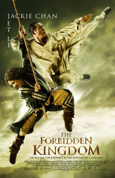 damn cooool english gilr lived kung fu movie forbidden kingdom